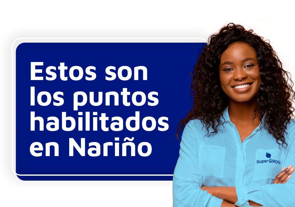 Punto de Venta disponibles en Nariño durante Aislamiento en Colombia