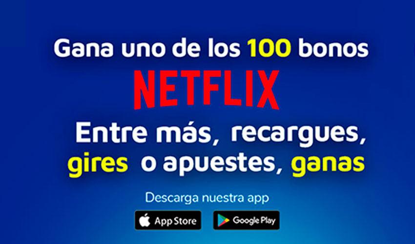 Gana bono de Netflix con SuperGIROS