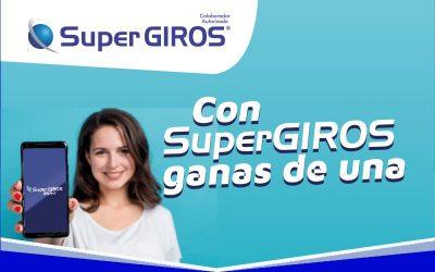 Con SuperGIROS Ganas de Una