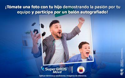 Demuestra con tu hijo la pasión por el Deportivo Pasto